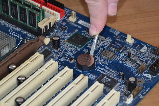 Замена батарейки Биоса в ноутбуке в LD-Service